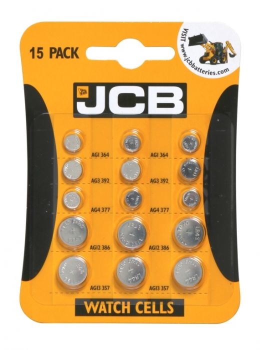 Jcb Watch Batteries Pack 15