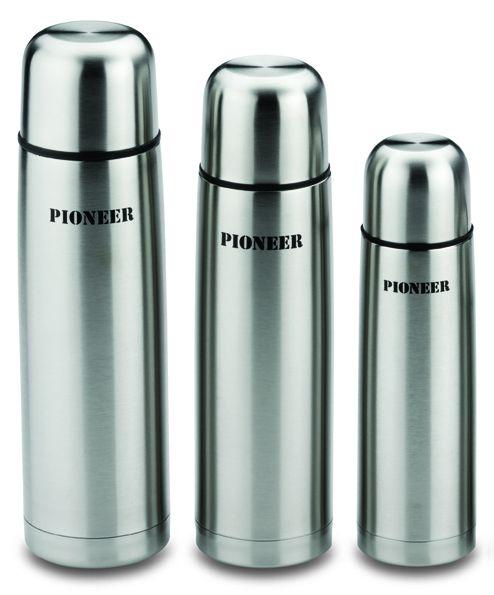 Pioneer 0.5L Vacuum Flask Stainless Steel