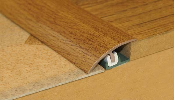 Stikatak Clip System Threshold 0.9M X 38Mm Dark Oak
