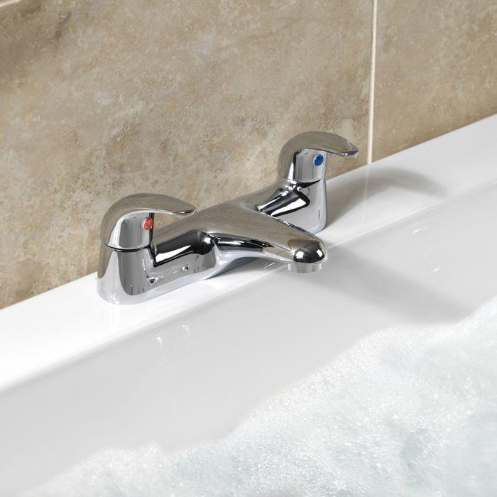Sp Eden Deck Bath Filler Tap W: 232Mm H: 86Mm D: 147Mm