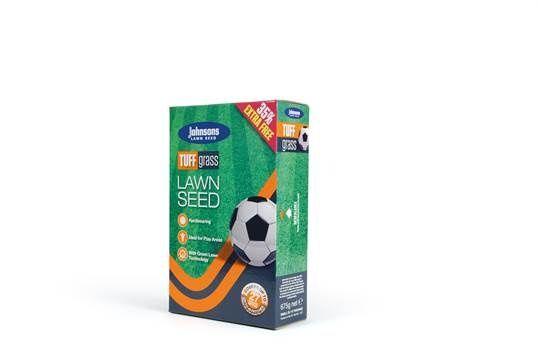 Johnsons Lawn Seed Tuffgrass 500G Plus 25% Carton
