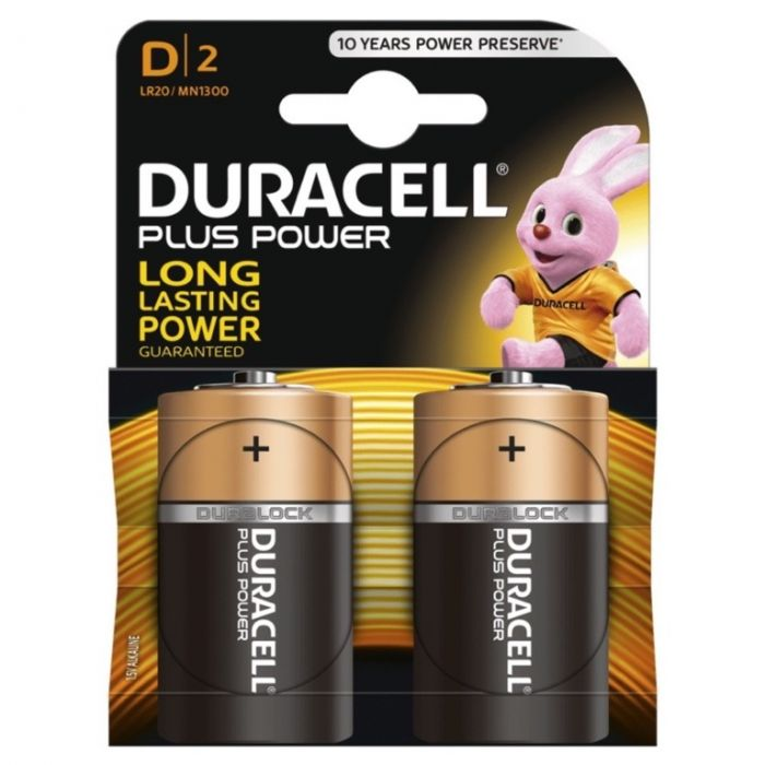 Duracell Plus Power D Size