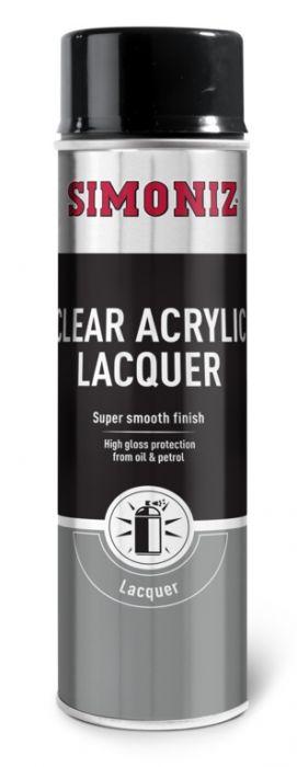 Simoniz Clear Lacquer - Acryllic 500Ml