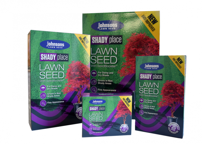 Johnsons Lawn Seed Shady Place 500G Carton