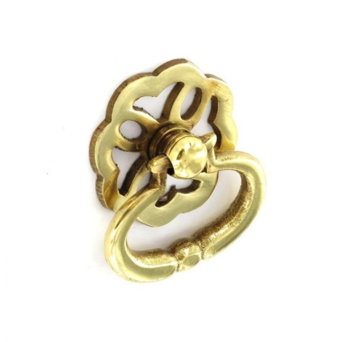 Securit Brass Ring Pull Handles Fancy (2) 38Mm
