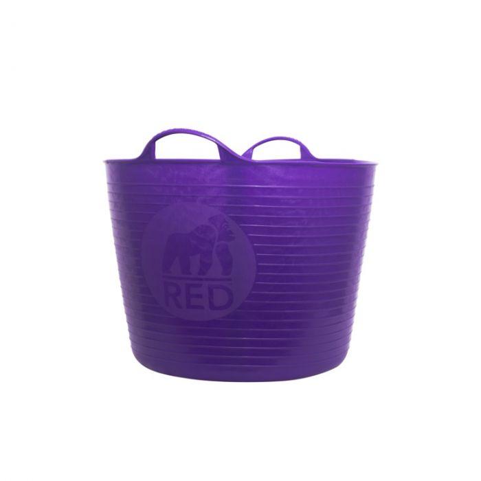 Red Gorilla Flexible Large Tub Purple