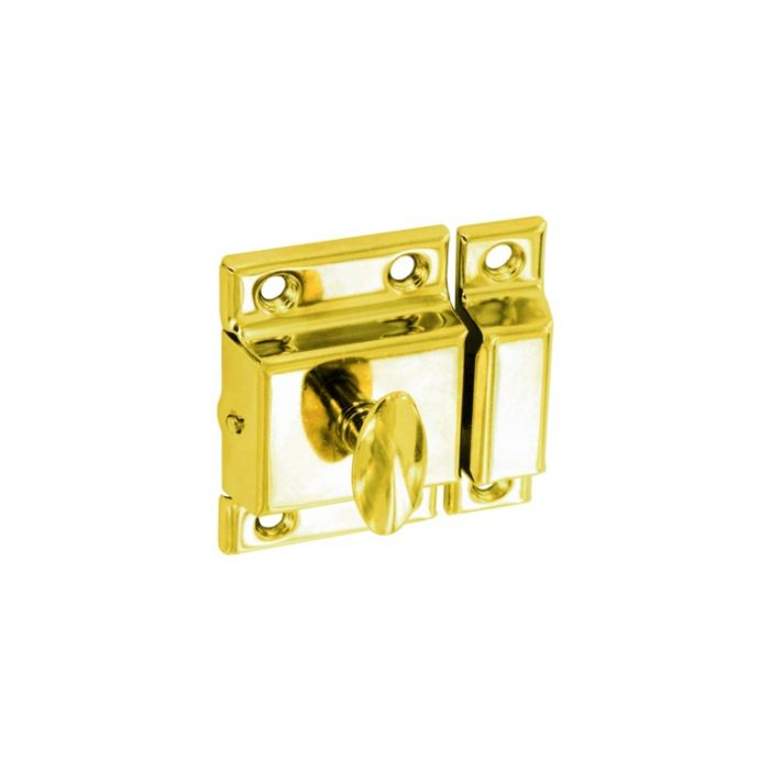 Securit Cupboard Turn Brass Plated 50Mm