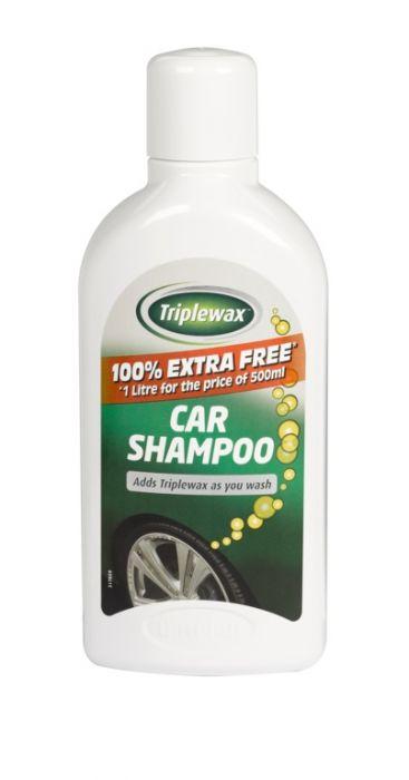 Carplan Triplewax Car Shampoo 500Ml Plus 500Ml Free