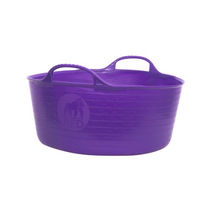 Red Gorilla Flexible Small Shallow Tub Purple