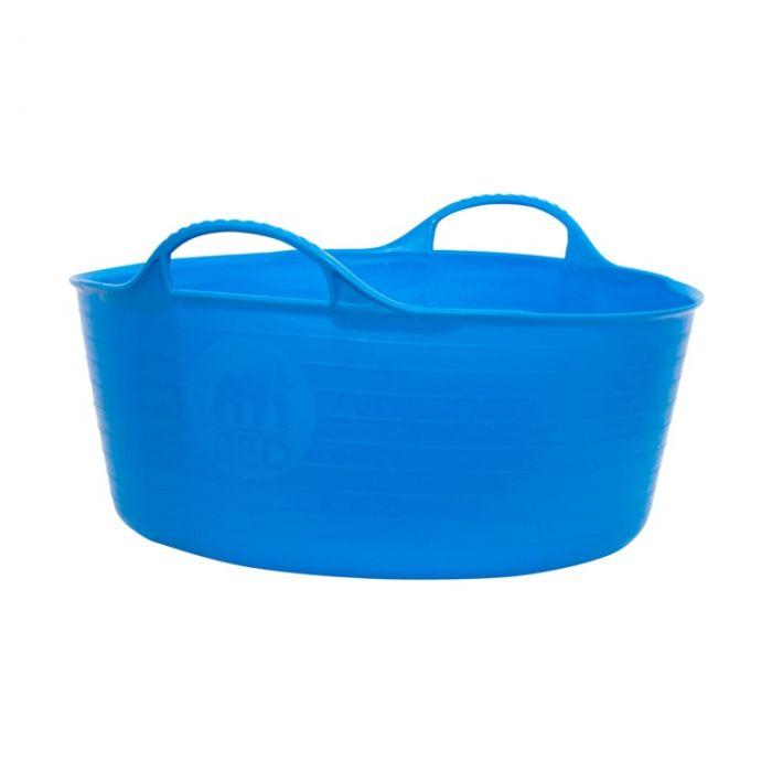 Red Gorilla Flexible Small Shallow Tub Blue