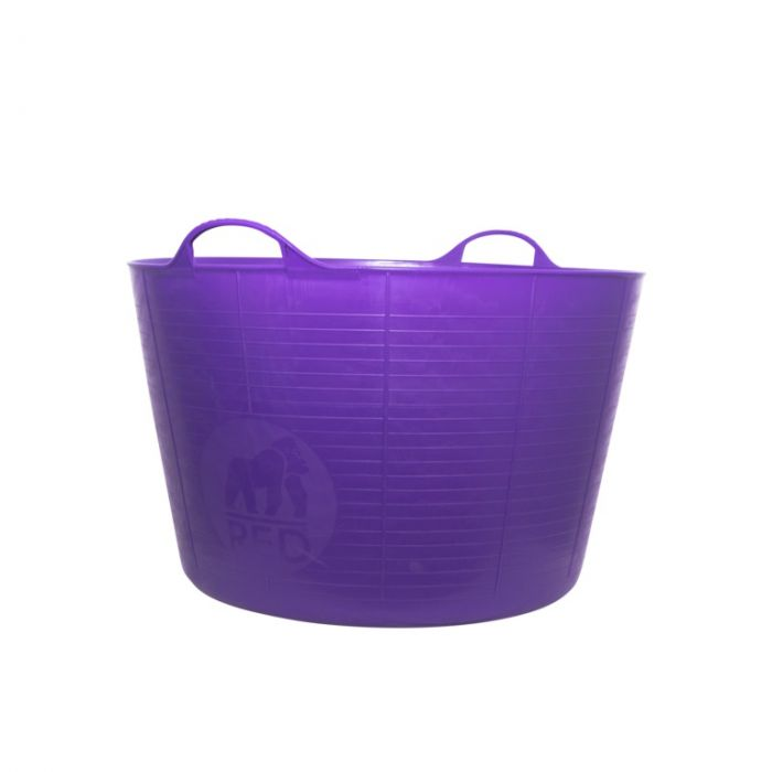 Red Gorilla Flexible Extra Large Tub Purple