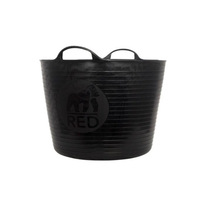 Red Gorilla Flexible Large Tub Black