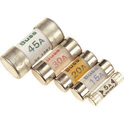Dencon 20 Amp Consumer Fuse Bs1361 Bubble Packed (2)