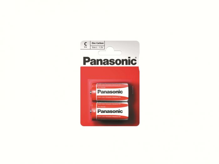 Panasonic Zinc Carbon Batteries C Size