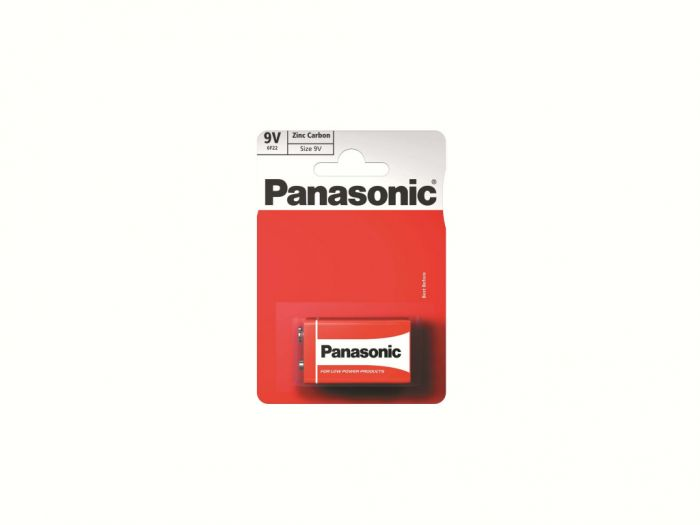 Panasonic Zinc Carbon Battery 9V (Card 1)