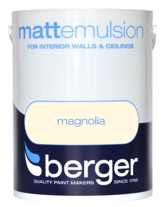 Berger Matt Emulsion 2.5L Magnolia