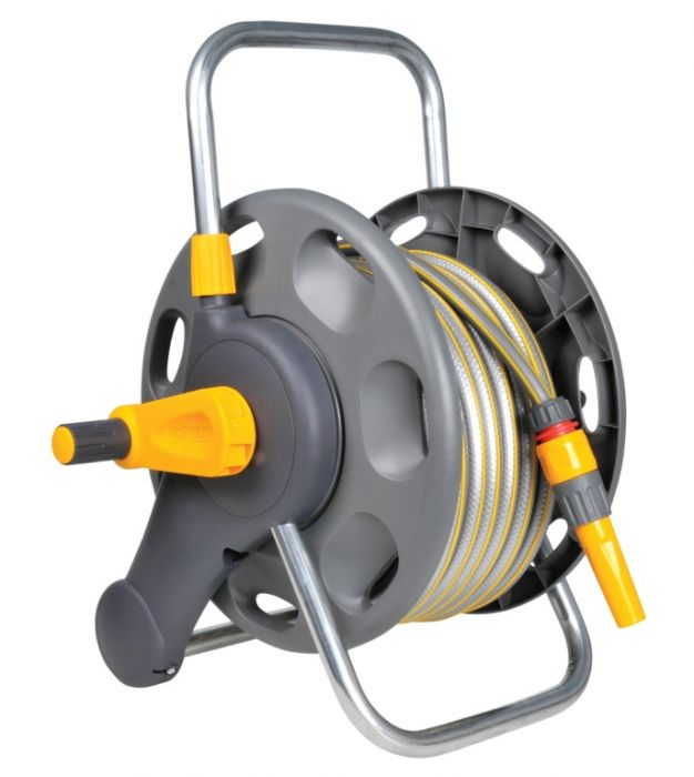 Hozelock 2 in 1 Assembled Reel With 25m Hose