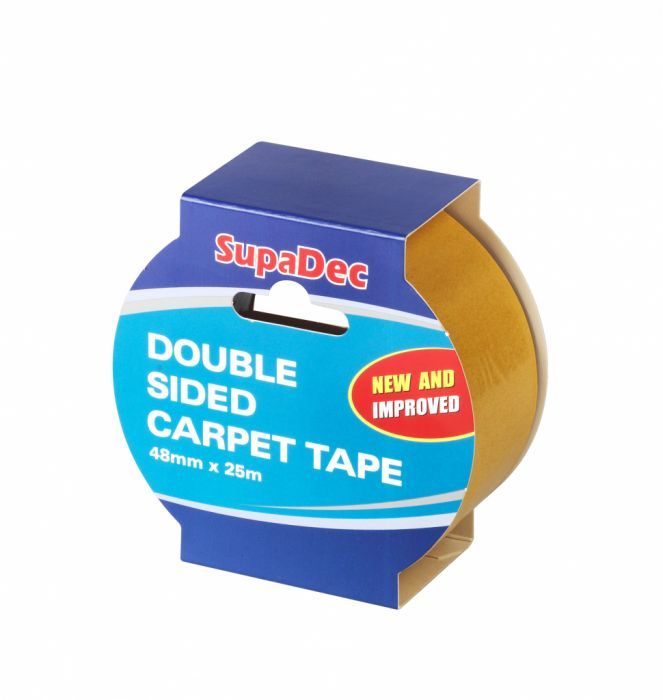 SupaDec Double Sided Carpet Tape 48mm x 25m