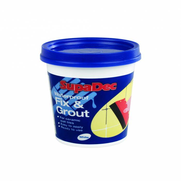 SupaDec Waterproof Fix & Grout 500g