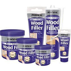 Ronseal Multi Purpose Wood Filler Cartridge 310ml White
