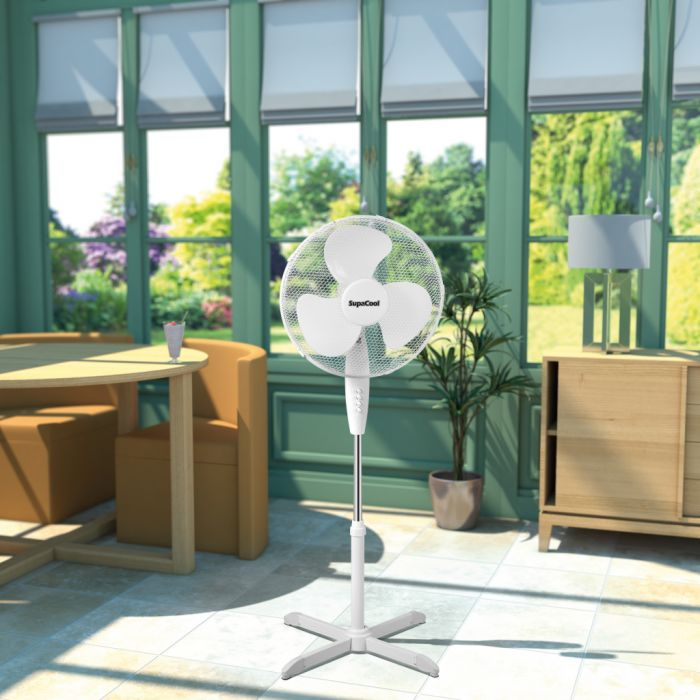 SupaCool Oscillating Stand Fan 16