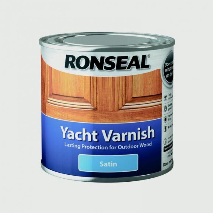 Ronseal Yacht Varnish Satin 250ml