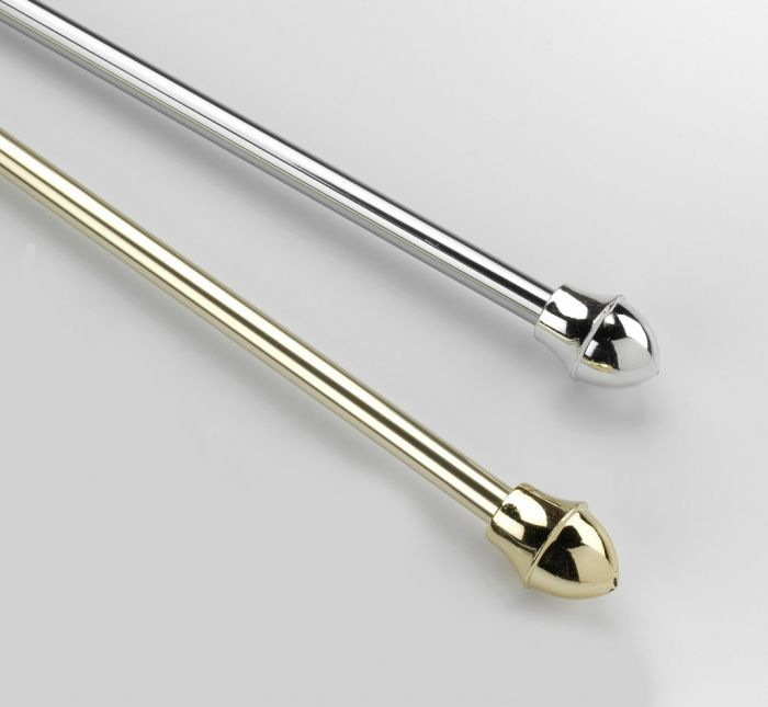 SupaDec Brass Cafe Rod 135-225cm