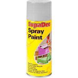 SupaDec Spray Paint 400ml Grey