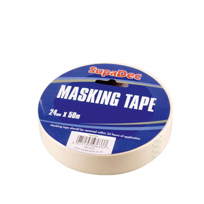 SupaDec Masking Tape 18mm x 50m