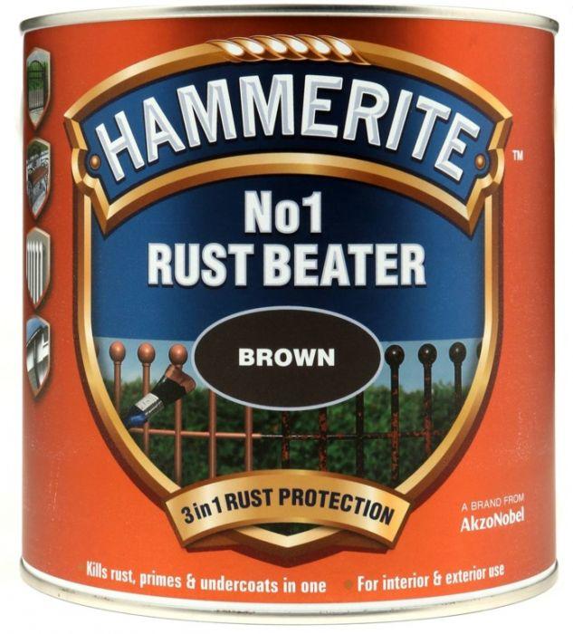 Hammerite No.1 Rustbeater 2.5L Brown