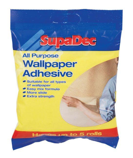 SupaDec All Purpose Wallpaper Adhesive Hangs up to 3 Rolls