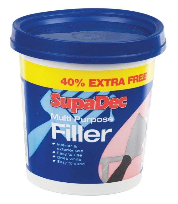 SupaDec Multi Purpose Ready Mixed Filler 600g Plus 40% Free