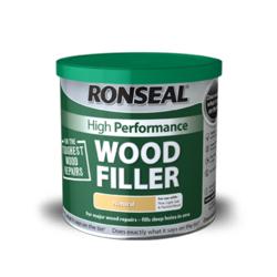 Ronseal High Performance Wood Filler 1kg Natural