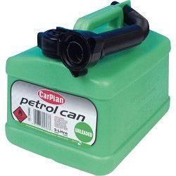 Carplan Plastic Fuel Can For Unleaded 5L