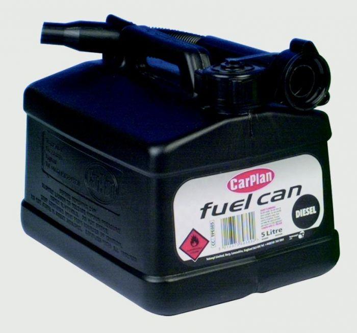 Carplan Plastic Fuel Can For Diesel 5L