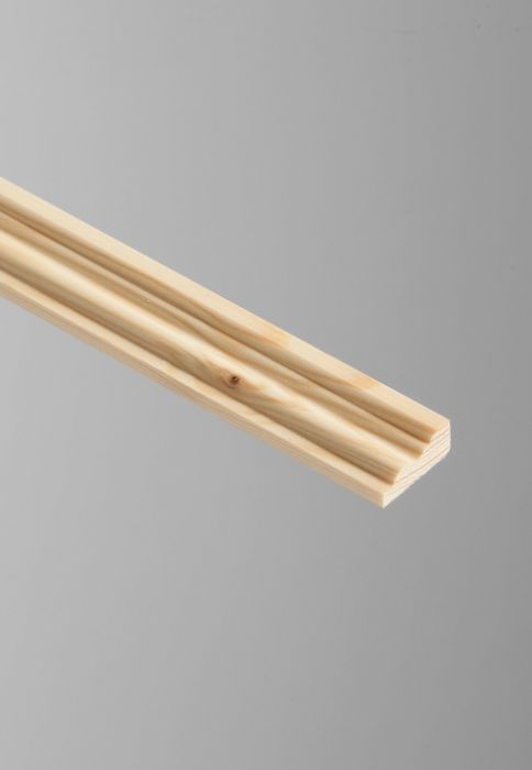 Cheshire Mouldings Barrel Pine Moulding 9 X 21Mm X 2.4M