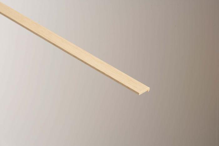 Cheshire Mouldings Hockey Stick Light Harwood 6 X 21Mm X 2.4M
