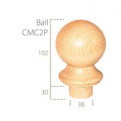 Cheshire Mouldings Pine Ball Cap