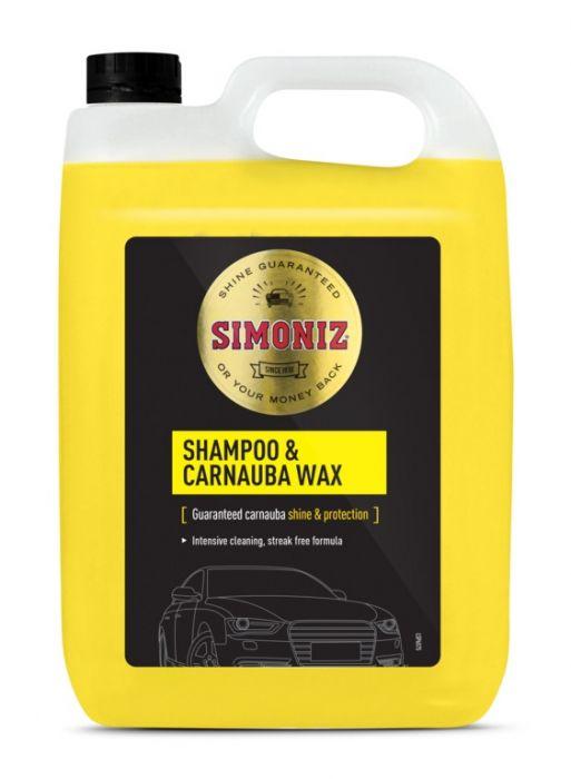 Simoniz Wash & Wax Shampoo 5L