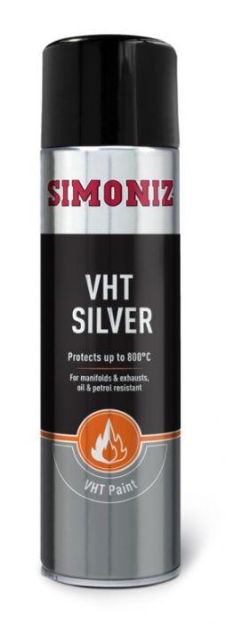 Simoniz Very High Temperature Paint 500Ml Silver