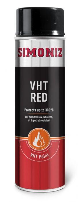 Simoniz Very High Temperature Paint 500Ml Red