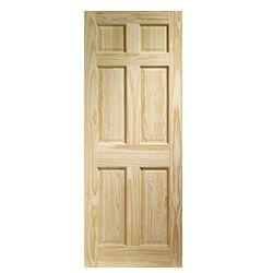 Lpd Doors Clear Pine Colonial 6 Panel Door 78 X 30 X 35Mm