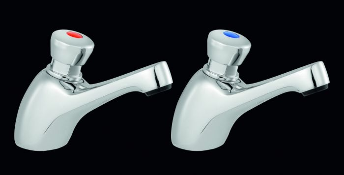 Supaplumb Self Closing Basin Taps W: 47Mm H: 100Mm D: 140Mm