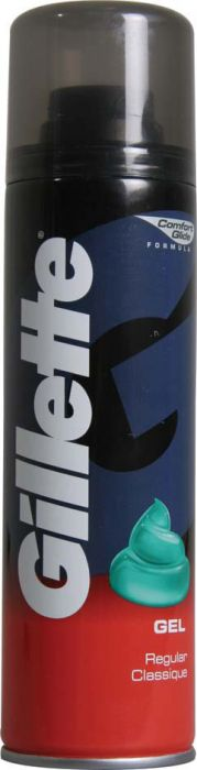 Gillette Shaving Gel Regular 200Ml
