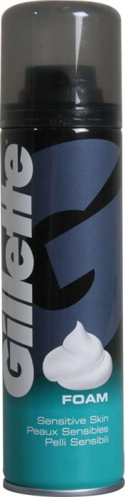 Gillette Shaving Foam 200Ml Sensitive