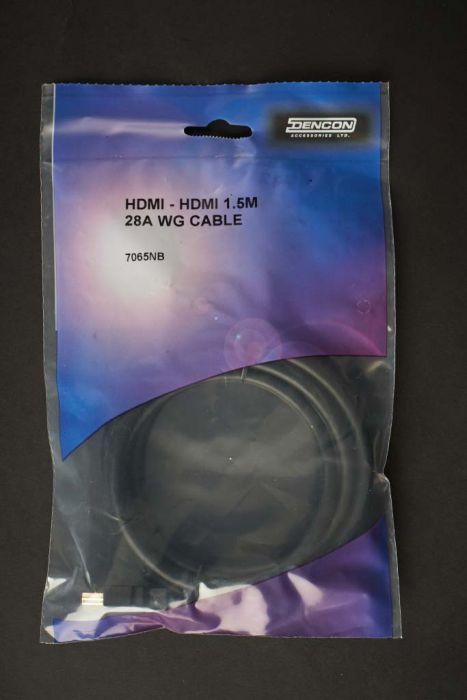 Dencon Hdmi 1.5M 28Awg Cable Bubble Packed