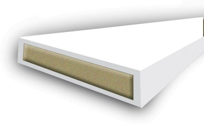 Astroflame Intumescent Seal Fire Only White 15 X 4 X 2100Mm