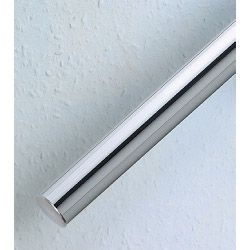 Rothley Handrail System - Pre Packed Rail - Steel Tube - Chrome Plated 40Mm X 1800Mm