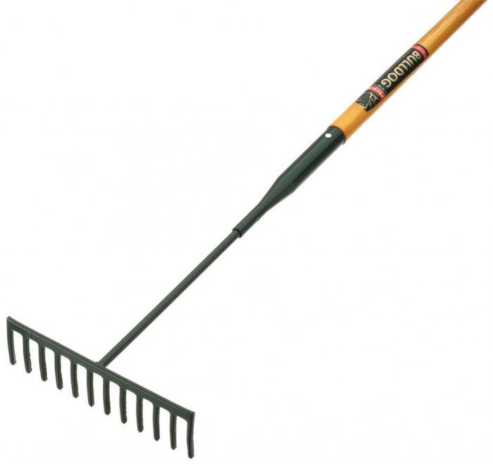 Bulldog Garden Rake - 12 Tooth 12