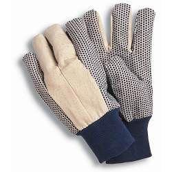 Town & Country Essentials - Canvas Grip Gloves Men's Size - L